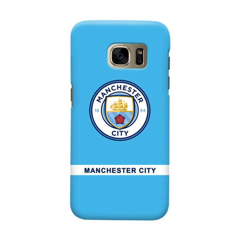Indocustomcase Manchester City MCity01 Cover Casing for Samsung Galaxy S6 Edge