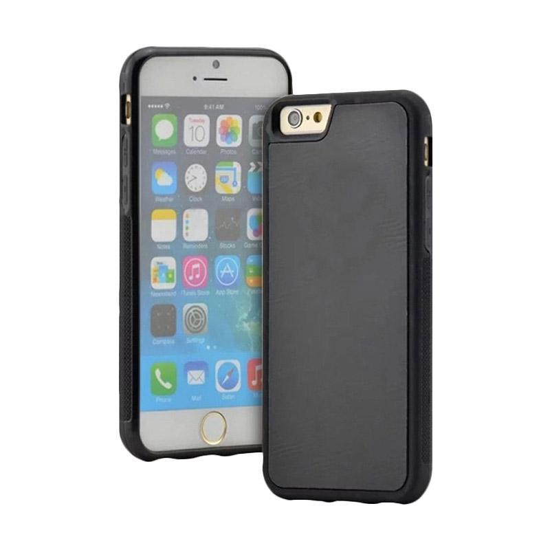 Anti Gravity Case / Nano Suction / Casing Tempel Unik Murah iPhone 5 or iPhone 5s - Hitam