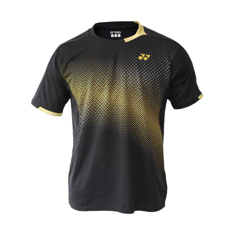 harga Yonex JP World Model 2012 Men London 2012 Olympics Shirt Kaos Badminton - Black TPM12060EXAZ-BKZZZZ Blibli.com