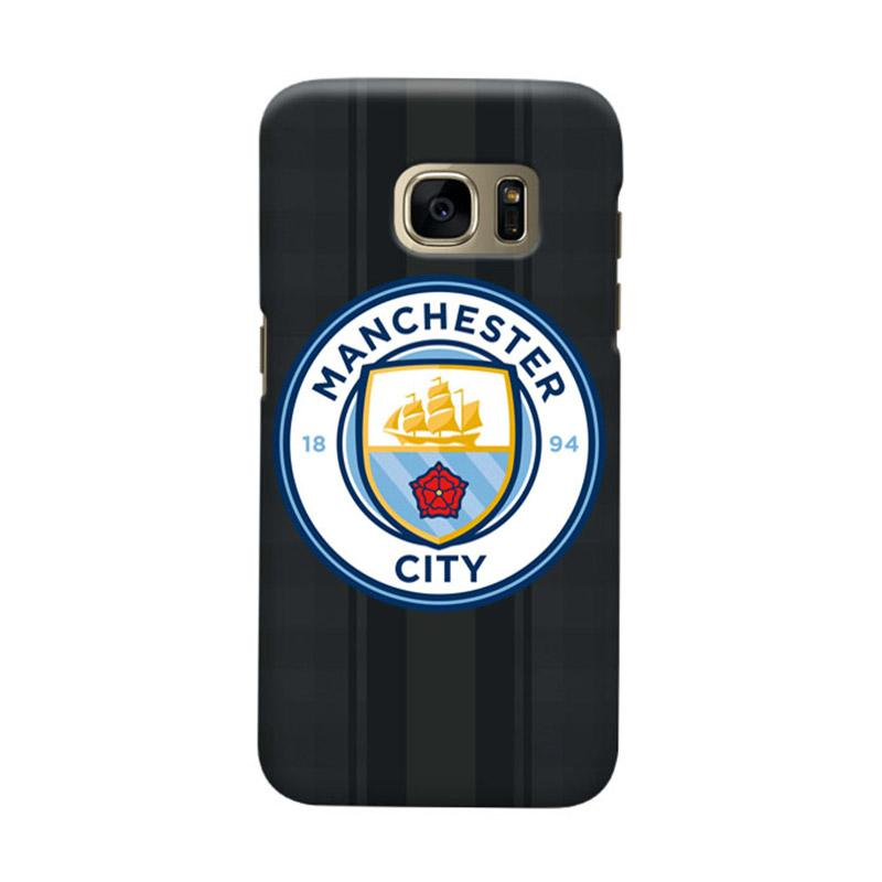 Indocustomcase Manchester City MCity02 Cover Casing for Samsung Galaxy S6 Edge