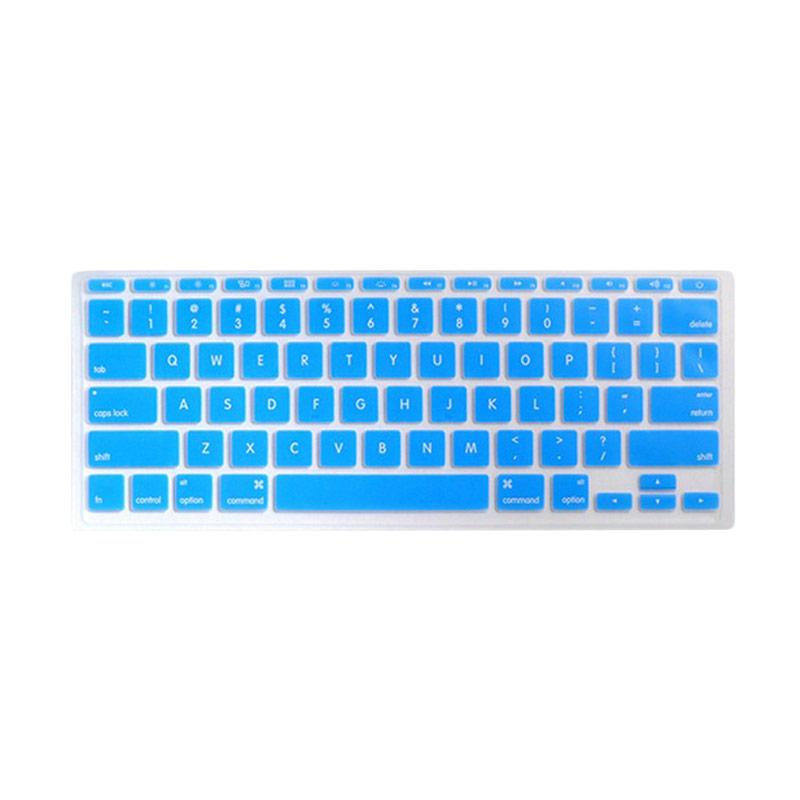 harga Crystal Guard Solid Color Silicone Keyboard Cover Protector for Macbook Pro 15 Inch Blibli.com