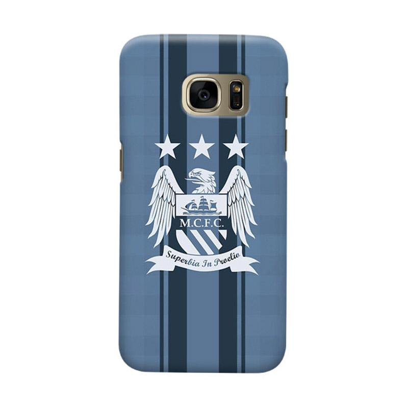 Indocustomcase Manchester City MCity03 Cover Casing for Samsung Galaxy S6 Edge