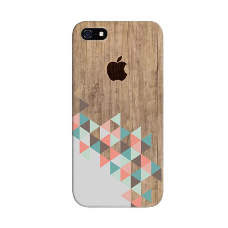 Indocustomcase Archiwood Apple Custom Cover Hardcase Casing for Apple iPhone 5/5S/SE