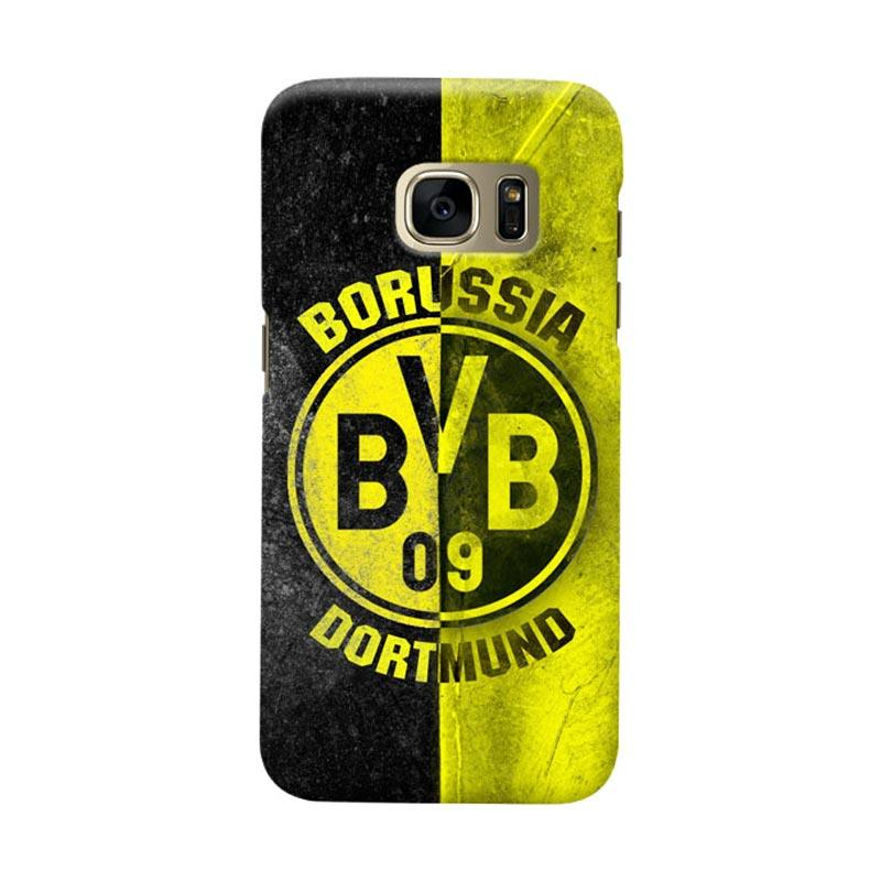 Indocustomcase BVB Borussia Dortmund Cover Casing for Samsung Galaxy S6 Edge