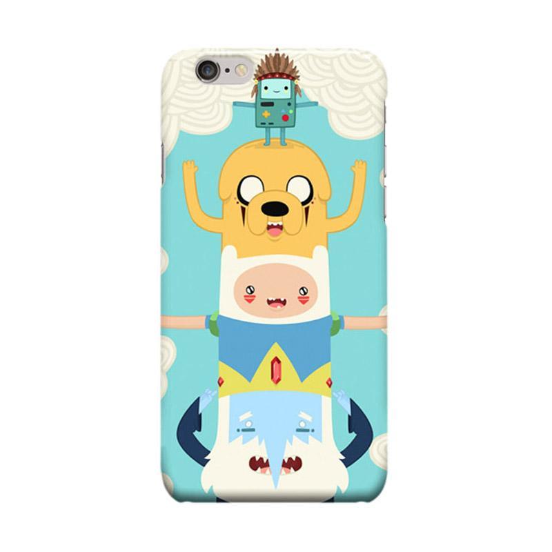 Indocustomcase BMO Adventure Time Cover Casing for Apple iPhone 6 Plus or 6S Plus