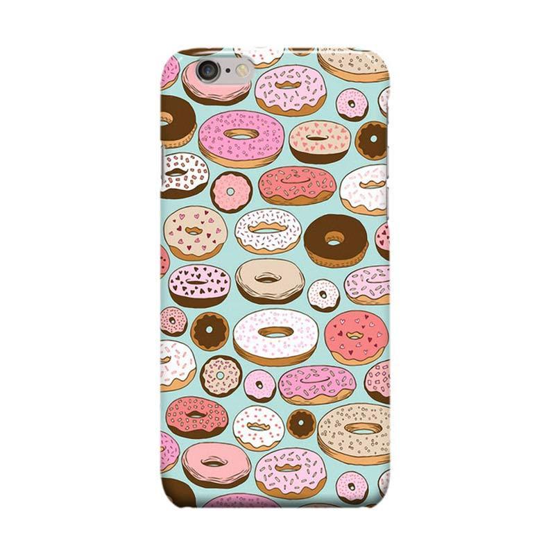 Indocustomcase Donut Wonderland Casing for Apple iPhone 6 Plus or iPhone 6S Plus