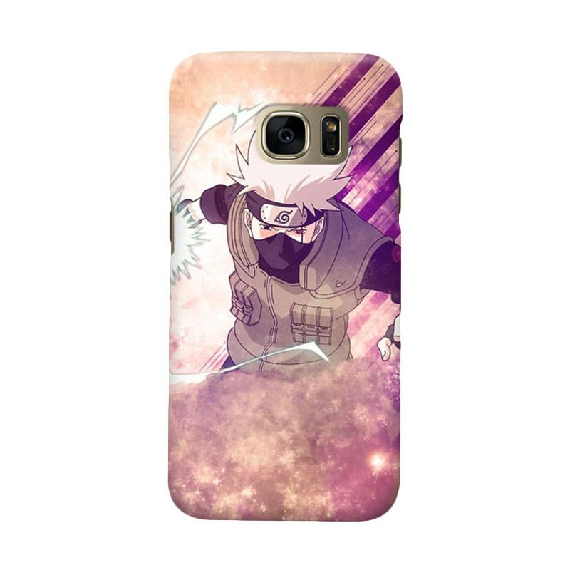 Indocustomcase Anime Naruto Character N02 Cover Casing for Samsung Galaxy S6 Edge