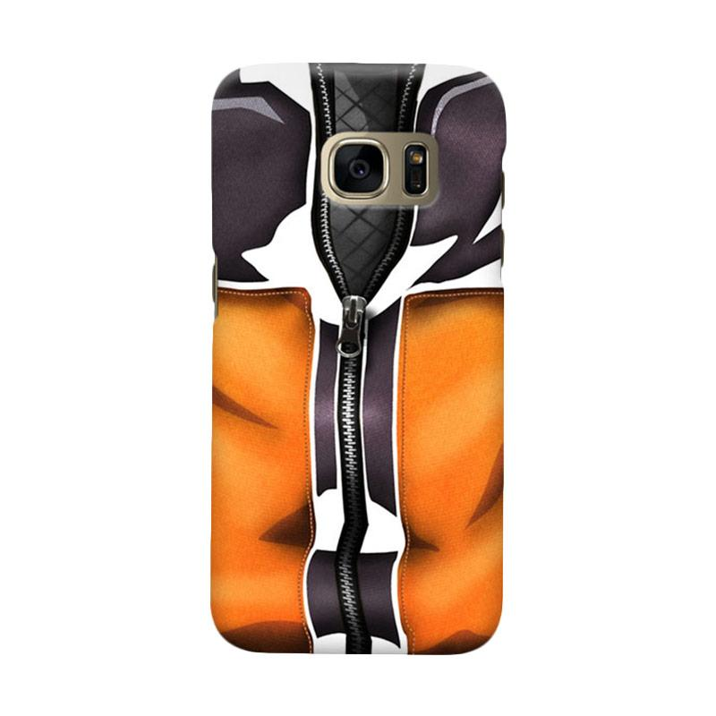 Indocustomcase Anime Naruto Character N03 Cover Casing for Samsung Galaxy S6 Edge