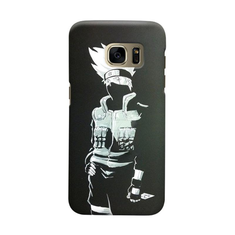 Indocustomcase Anime Naruto Character N04 Cover Casing for Samsung Galaxy S6 Edge