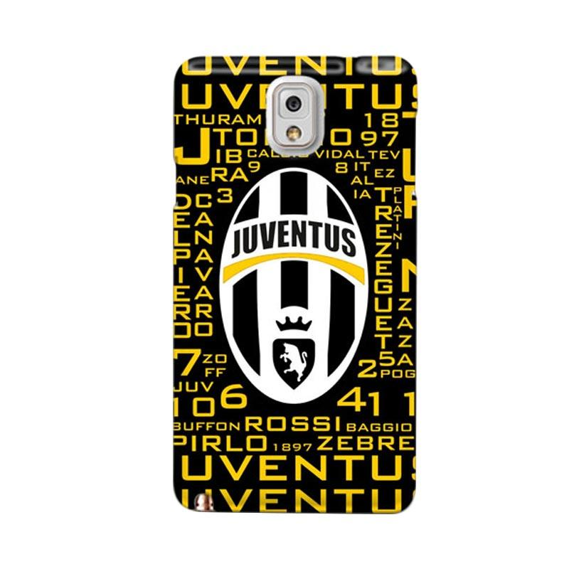 Indocustomcase Juventus FC IDC10 Custom Hardcase Casing for Samsung Galaxy Note 3 N9000