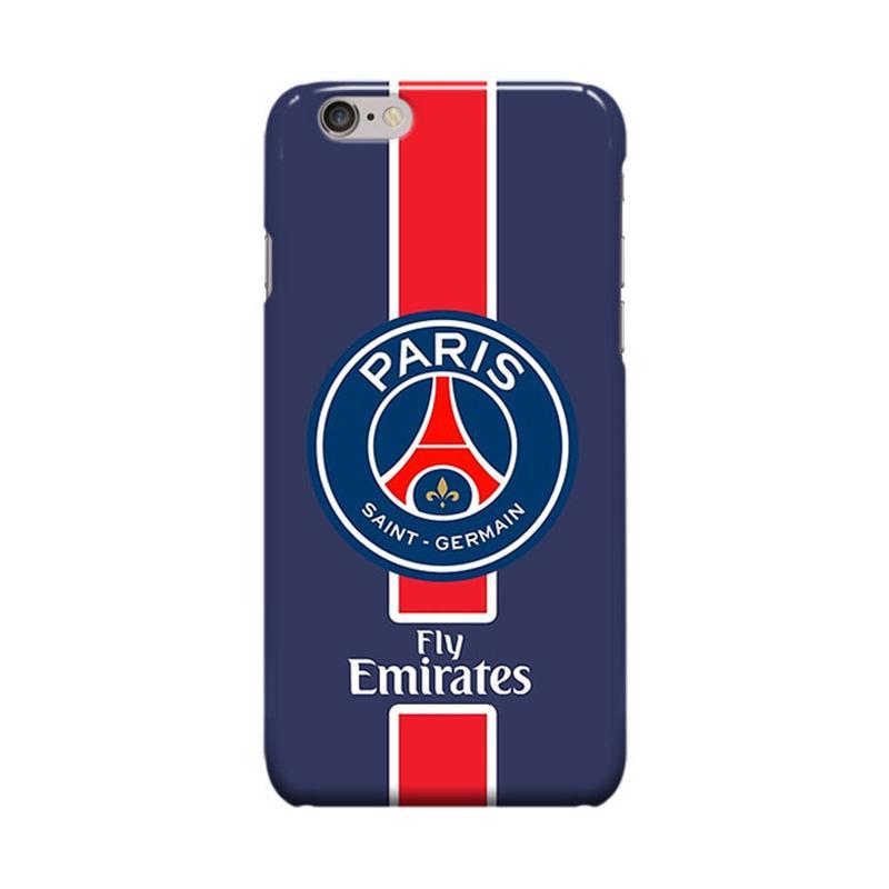 Indocustomcase Paris Saint Germain FC PSG01 Casing for Apple iPhone 6 Plus or 6S Plus