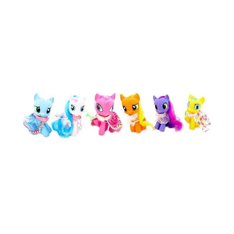 harga TSH Figure Little Pony Kostum Pajangan Miniatur - Multi Colour Blibli.com
