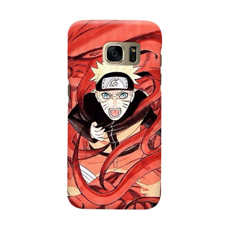 Indocustomcase Anime Naruto Character N05 Cover Casing for Samsung Galaxy S7 Edge