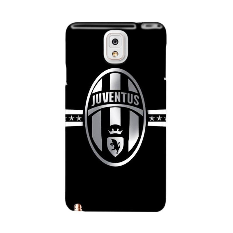 Indocustomcase Juventus FC IDC02 Custom Hardcase Casing for Samsung Galaxy Note 3 N9000