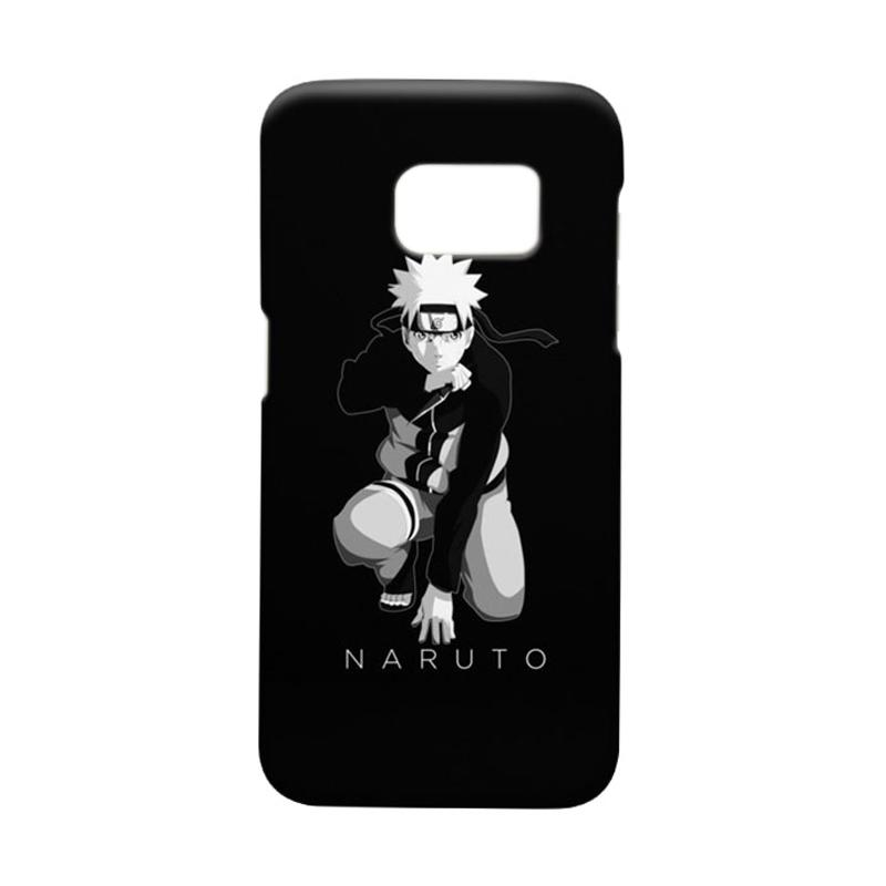 Indocustomcase Anime Naruto Character N07 Cover Casing for Samsung Galaxy S7 Edge