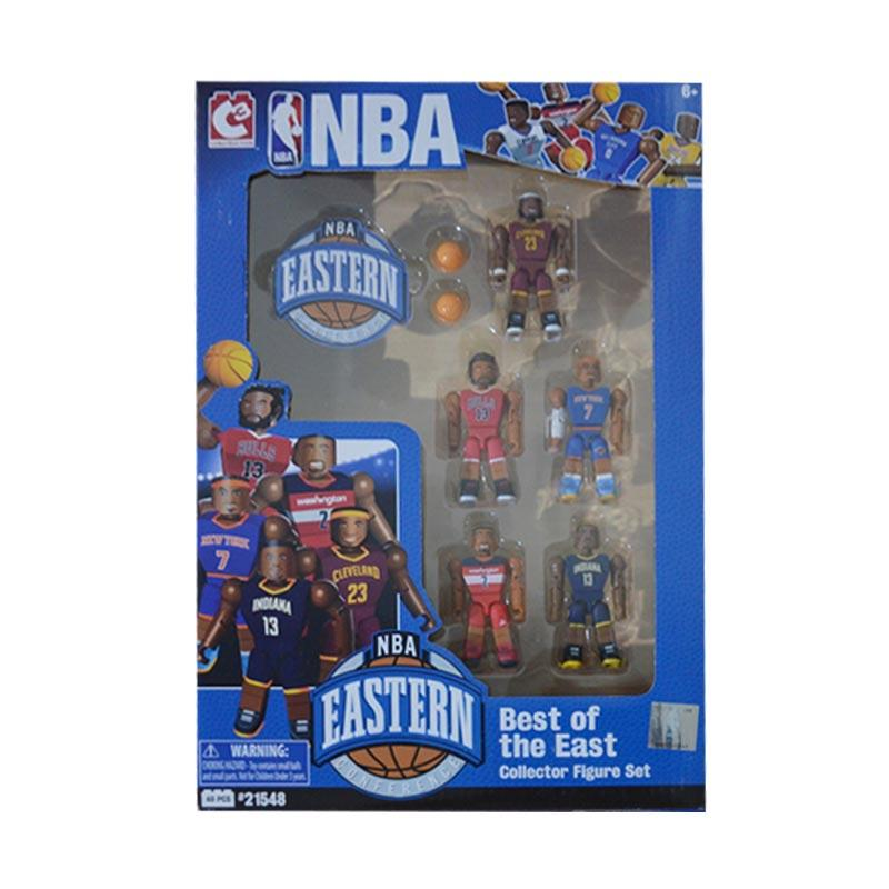 C3 Construction NBA Best Of East #21548 Collector Minifigures