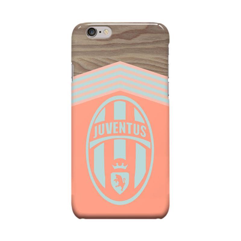 Indocustomcase Juventus Logo JV01 Cover Casing for Apple Iphone 6 Plus or 6S Plus