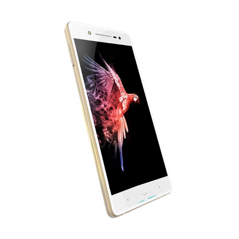 harga Polytron Smartphone PRIME 7S P520 – 5.2 Inch – RAM 3GB + ROM 64GB –WHITE + Wood Pattern Handphone Skin + Tempered Glass (Front & Black) + Soft Jelly Case Blibli.com