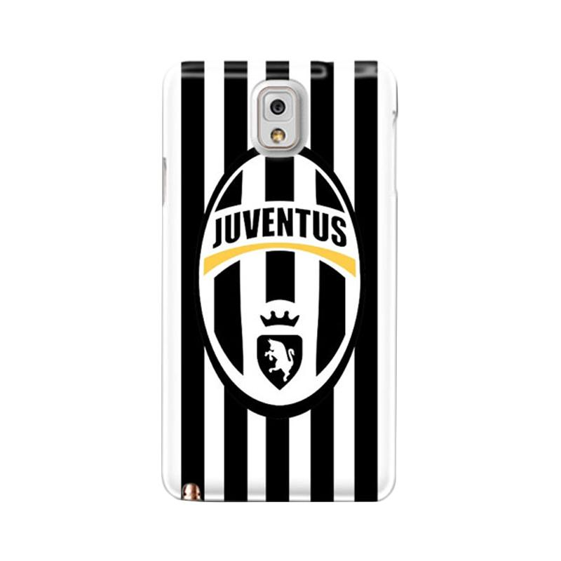 Indocustomcase Juventus FC IDC06 Custom Hardcase Casing for Samsung Galaxy Note 3 N9000
