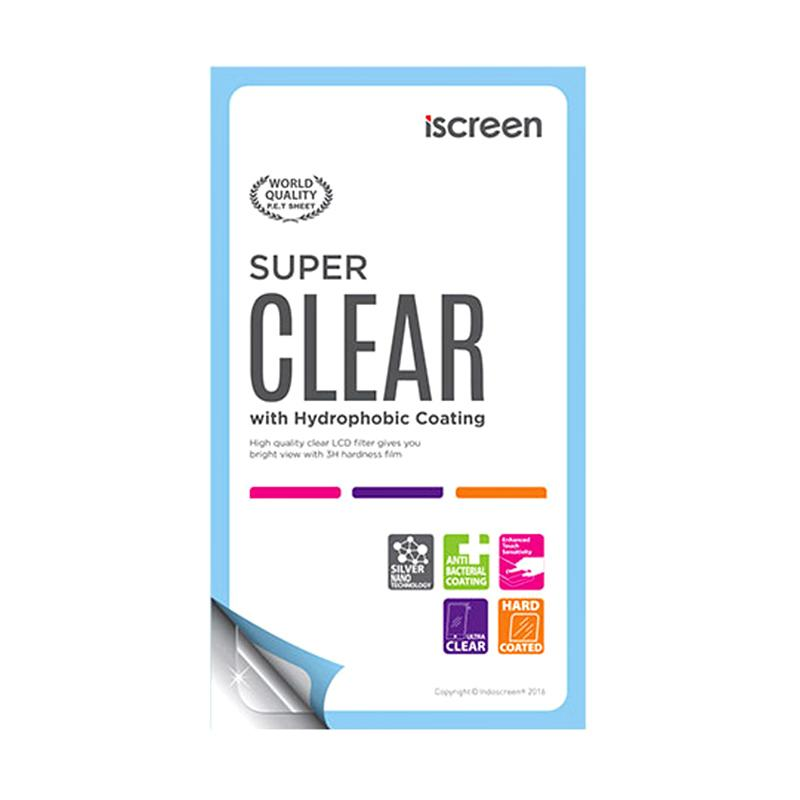 Indoscreen iScreen Anti Gores Screen Protector for Blackberry Monaco 9850 or Monza 9860 - Clear