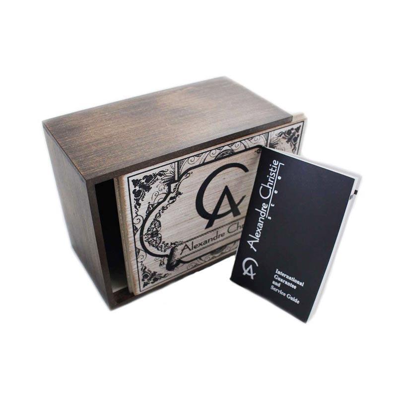 Jual Alexandre Christie 8420 MDLRGSL Leather Strap Jam Tangan Pria - Brown  Rosegold White Online - Harga   Kualitas Terjamin  833035b17f
