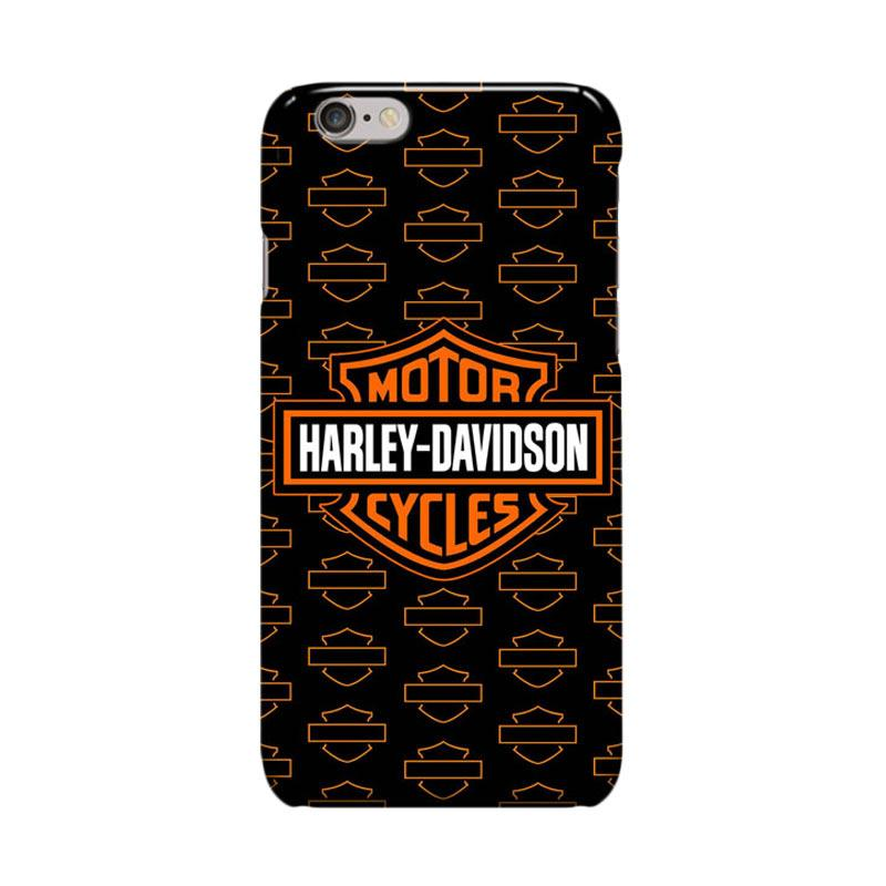 Indocustomcase Harley Davidson Logo Logo Cover Casing or iPhone 6 Plus or 6S Plus