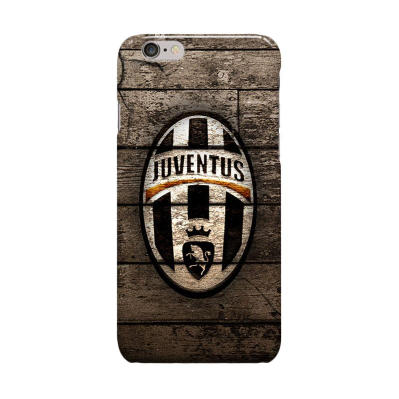 Indocustomcase Juventus Logo JV03 Cover Casing for Apple iPhone 6 Plus or 6S Plus