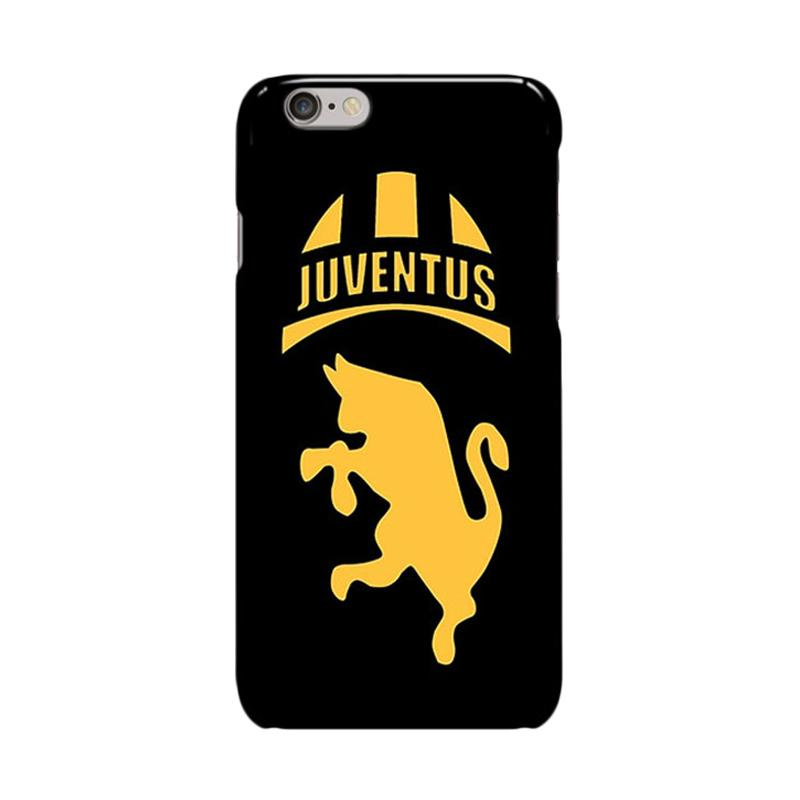 Indocustomcase Juventus Logo JV04 Cover Casing for Apple Iphone 6 Plus or 6S Plus