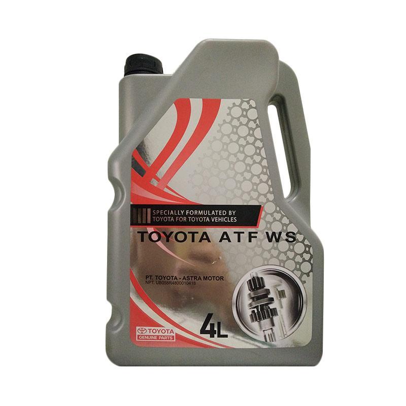 Toyota ATF WS Oli Transmisi Automatik Matik AT Galon for Yaris/Vios/Altis/Camry [4 Liter]
