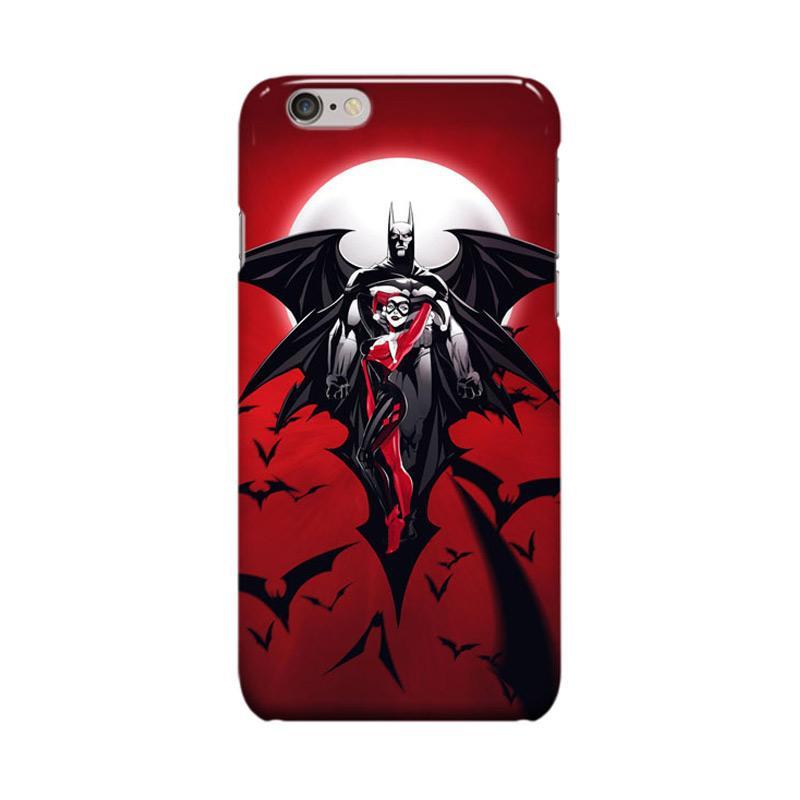 Indocustomcase Batman Harley Quinn Cover Casing for Apple iPhone 6 Plus or 6S Plus