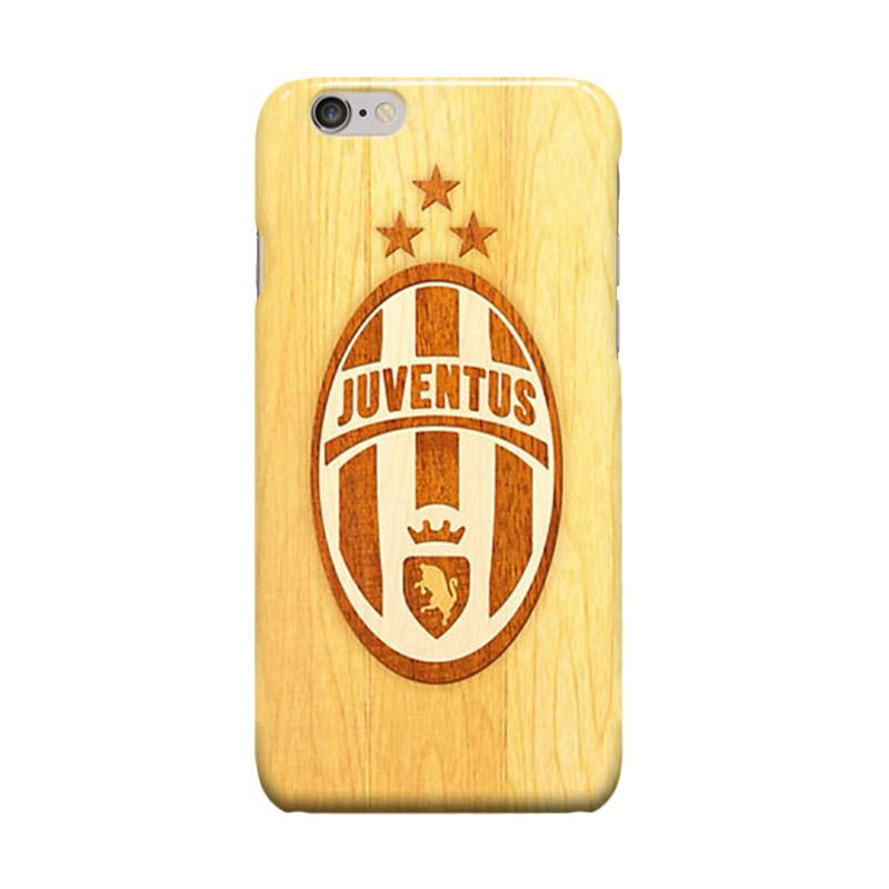 Indocustomcase Juventus Logo JV08 Cover Casing for Apple Iphone 6 Plus or 6S Plus