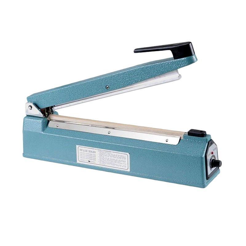 Q2 Impulse sealer PFS- 200 Alat Press Plastik - Biru [20 cm]