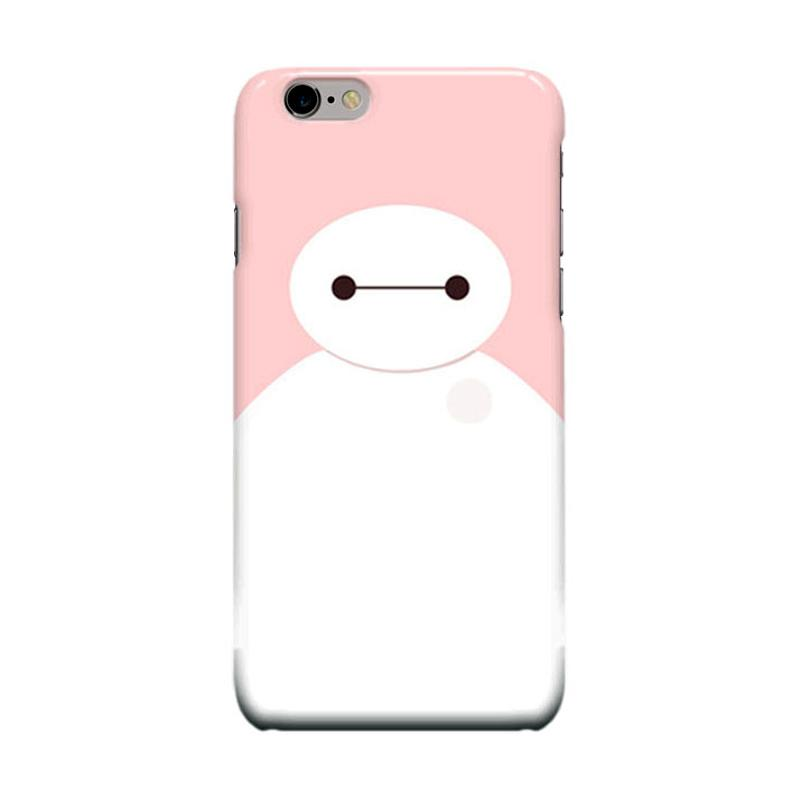 Indocustomcase Cartoon Baymax Cover Casing for Apple iPhone 6 Plus or 6S Plus - Pink