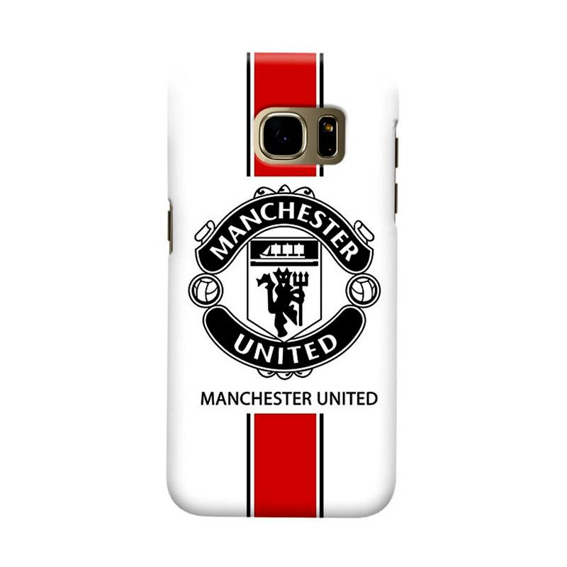 Indocustomcase Manchester United MANUFC01 Cover Casing for Samsung Galaxy S7 Edge