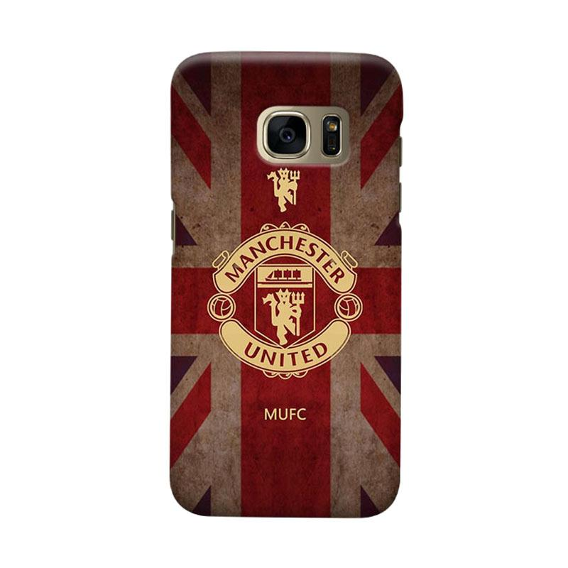 Indocustomcase Manchester United MANUFC02 Cover Casing for Samsung Galaxy S6 Edge