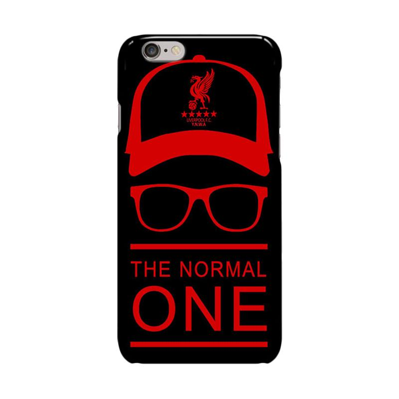 Indocustomcase Liverpool The Normal One Cover Casing for iPhone 6 Plus or 6S Plus