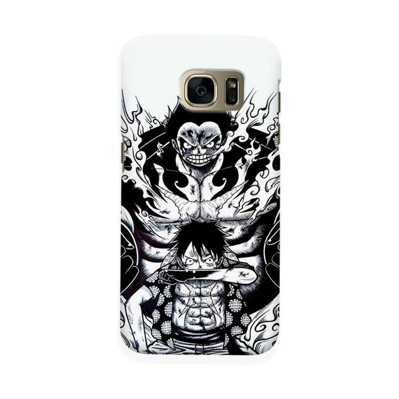 Indocustomcase Anime One Piece Character OP10 Cover Casing for Samsung Galaxy S6 Edge