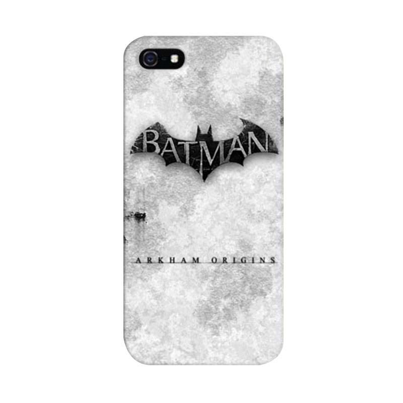 Indocustomcase Batman Arkham City Custom Cover Hardcase Casing for Apple iPhone 5/5S/SE