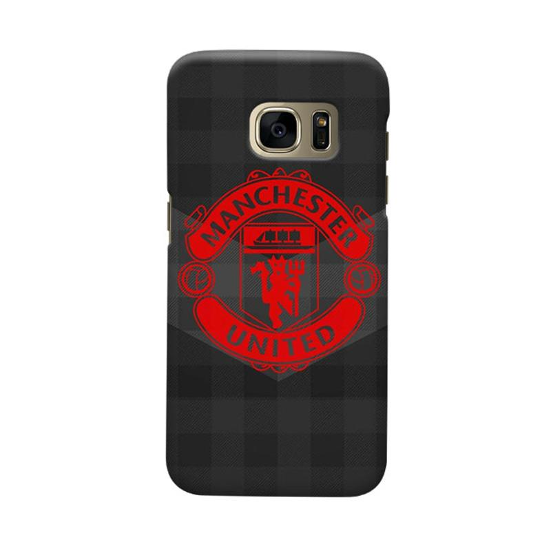 Indocustomcase Manchester United MANUFC07 Cover Casing for Samsung Galaxy S6 Edge