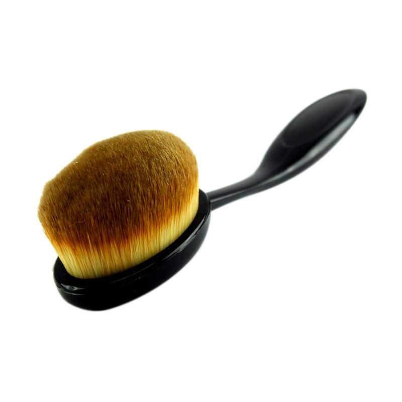 JBS Kuas oval Makeup Brush Oval Cream Power Puff Cosmetic Foundation Blend Beauty Makeup Tools