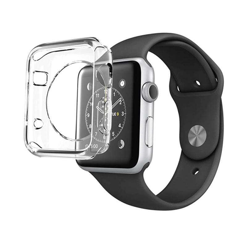 VR Voorca Silicon Protector Softcase Casing for Apple Watch 1st Generation 42mm - Transparant
