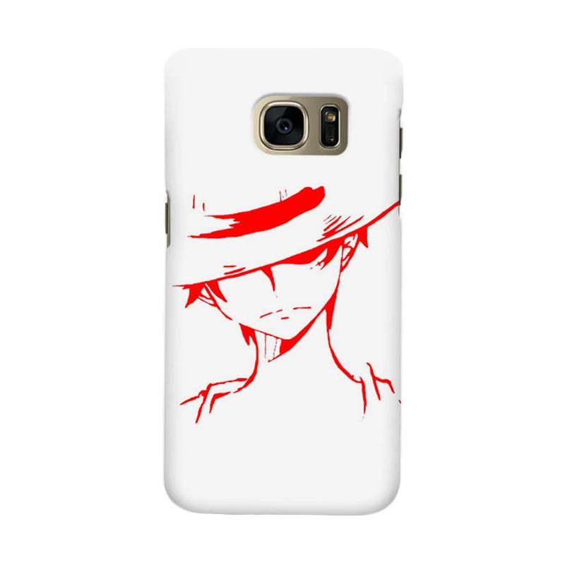 Indocustomcase Anime One Piece Character OP03 Cover Casing for Samsung Galaxy S6 Edge