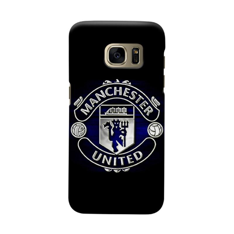 Indocustomcase Manchester United MANUFC08 Cover Casing for Samsung Galaxy S6 Edge
