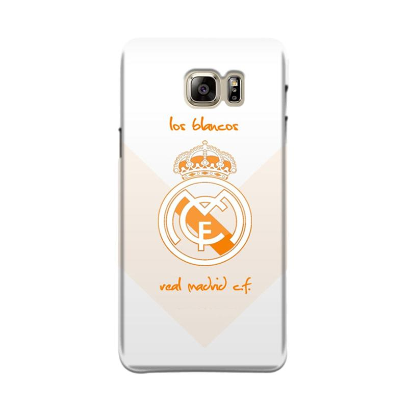 Harga Indocustomcase Soccer Real Madrid CF Logo RMA02 Cover Casing for Samsung Galaxy Note 5 N920