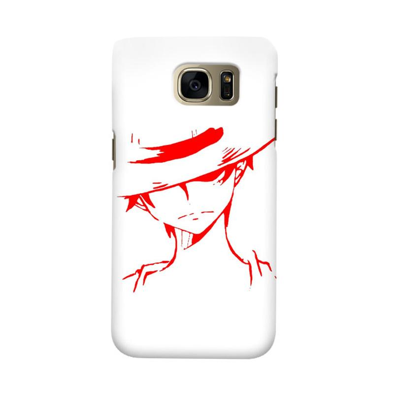 Indocustomcase Anime One Piece Character OP03 Cover Casing for Samsung Galaxy S7 Edge