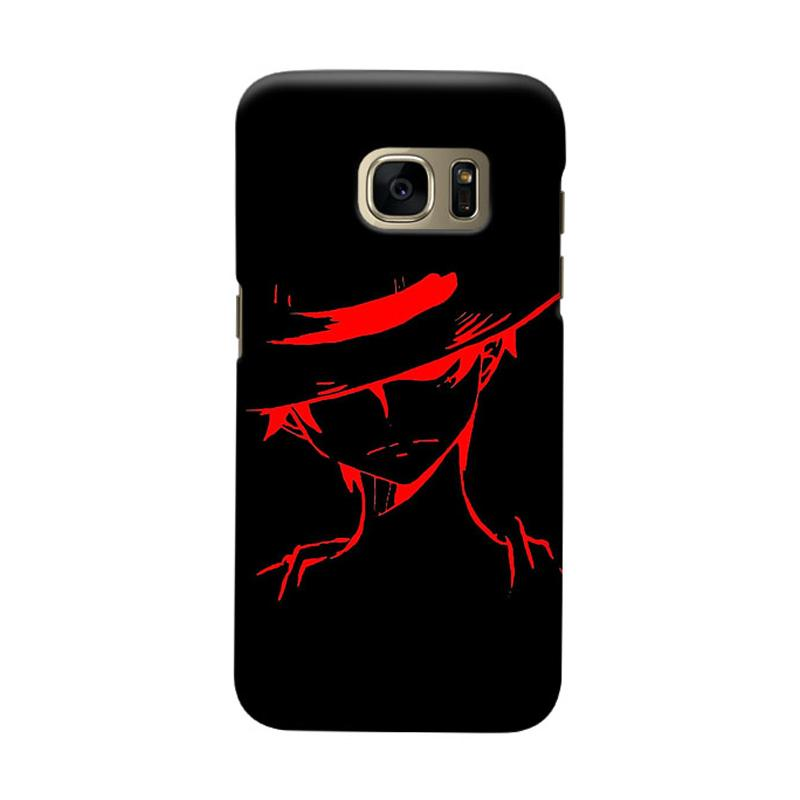 Indocustomcase Anime One Piece Character OP04 Cover Casing for Samsung Galaxy S6 Edge