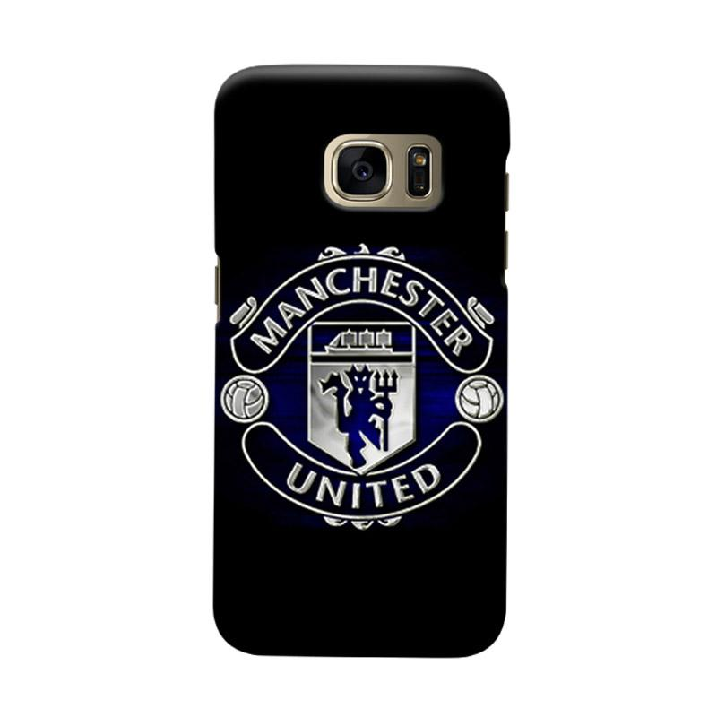 Indocustomcase Manchester United MANUFC08 Cover Casing for Samsung Galaxy S7 Edge