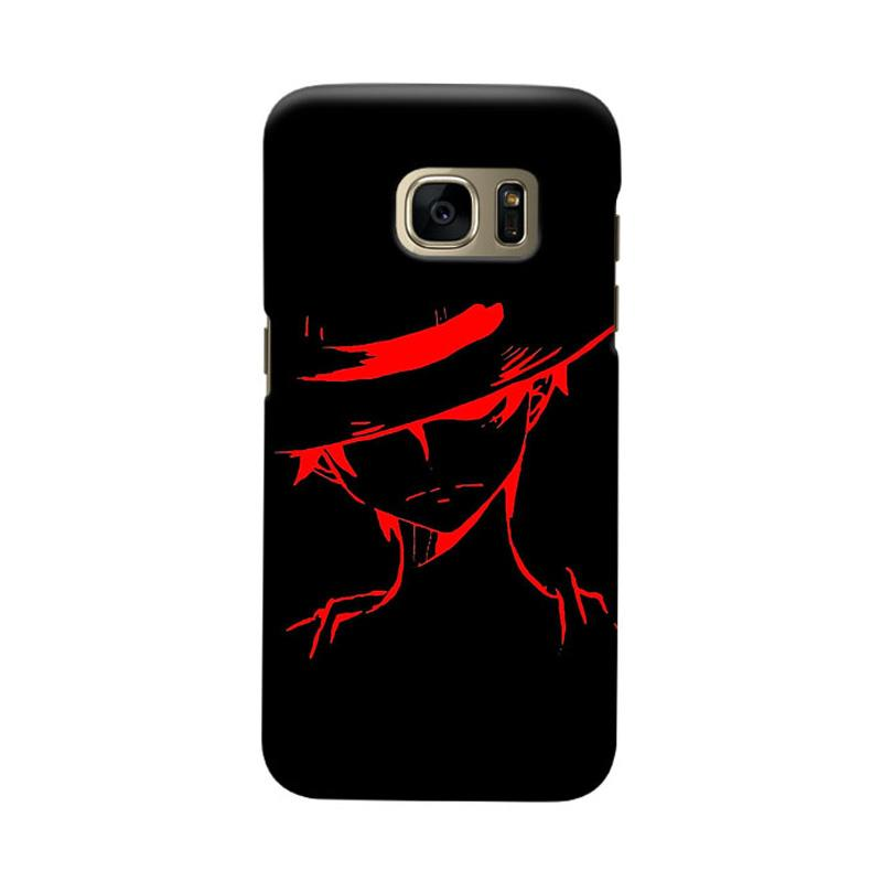 Indocustomcase Anime One Piece Character OP04 Cover Casing forSamsung Galaxy S7 Edge