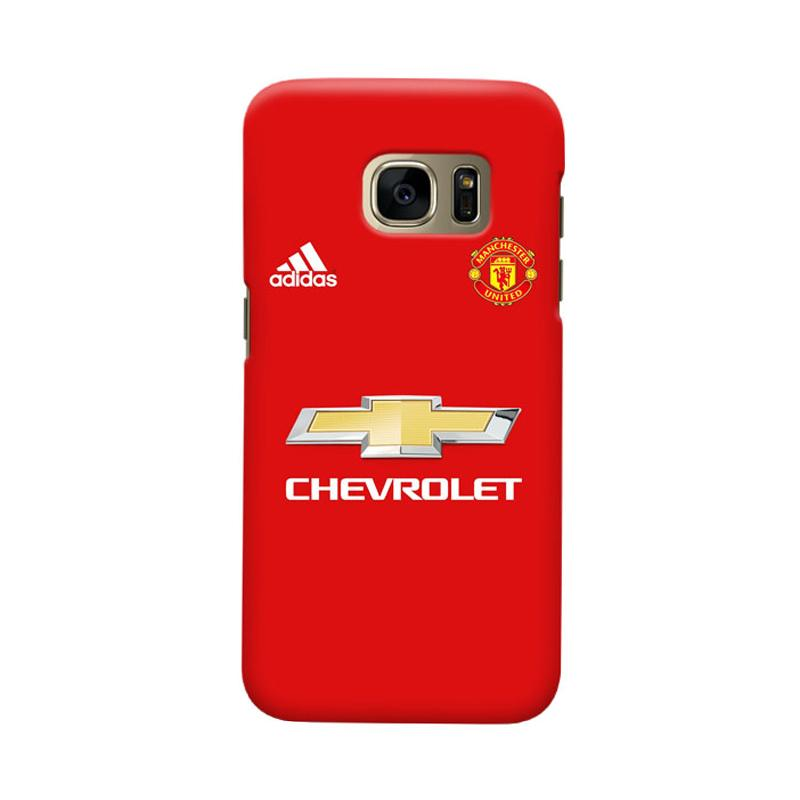 Indocustomcase Manchester United MANUFC06 Cover Casing for Samsung Galaxy S6 Edge (2)