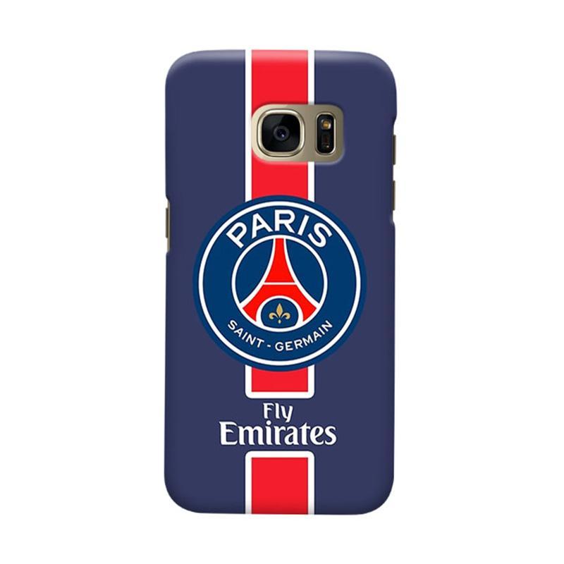 Indocustomcase Paris Saint Germain FC PSG01 Casing for Samsung Galaxy S7 Edge
